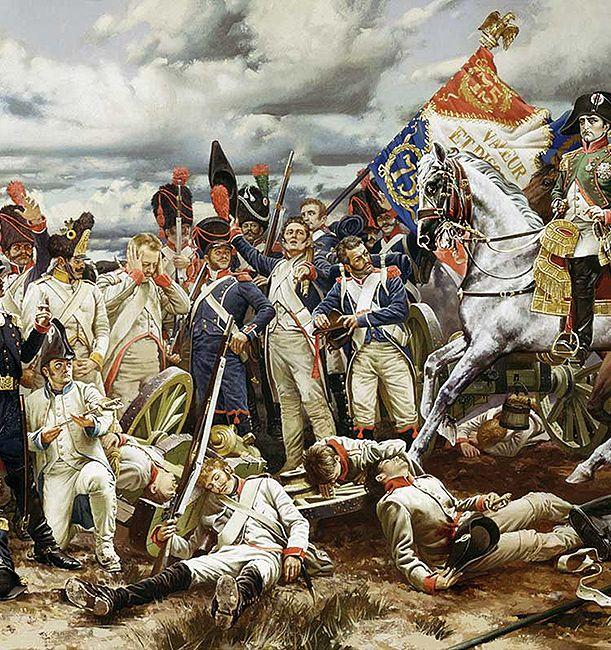 Napoleon in Austerlitz 1805